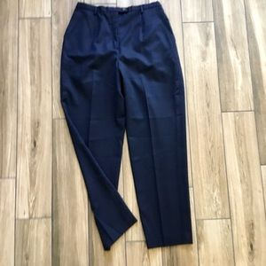 Pendleton navy blue wool pants